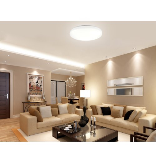 LE Super Bright 40 Watt Flush Mount LED Ceiling Light ...