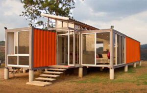 green initiatives shipping container conversion