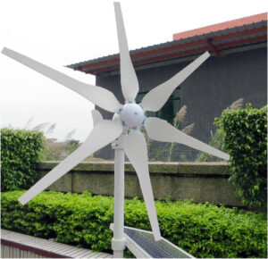 green initiatives network wind turbine generator